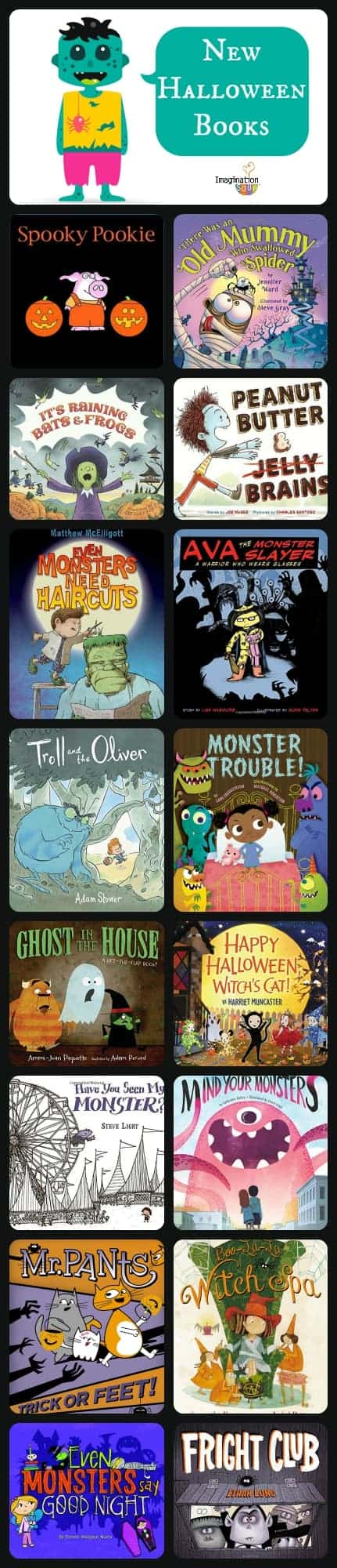 New Halloween and Monster Books