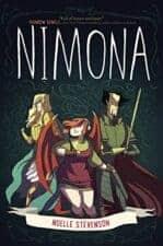 Nimona funny books for teens YA
