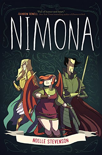 Nimona recommended graphic novel for kids