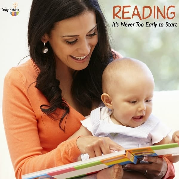reading books with babies is so important to their development as a reader!