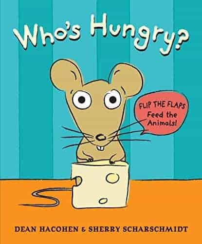 Who's Hungry book recommendation for toddlers