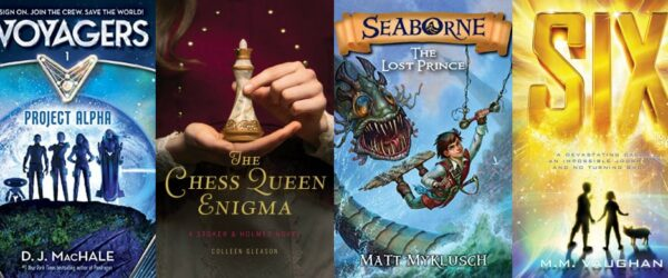 Thrilling New Adventure and Mystery Books