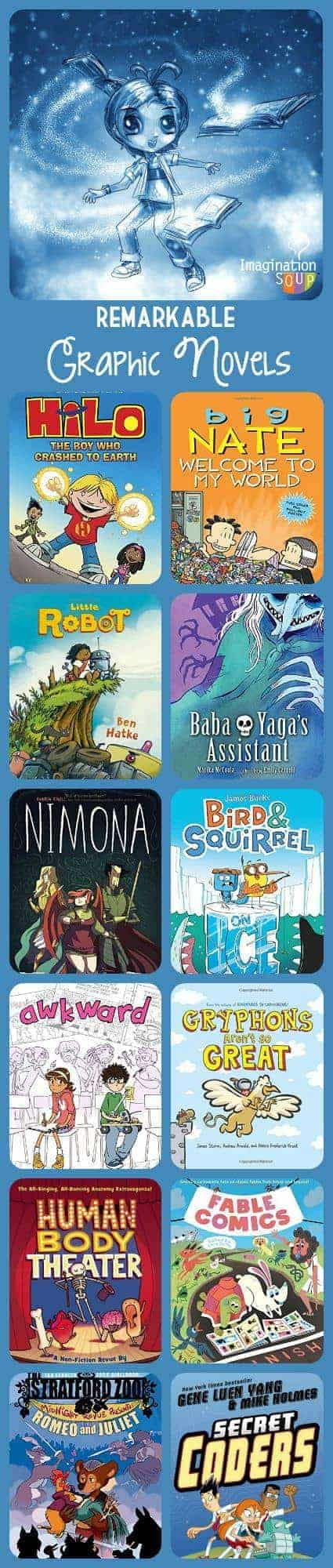 fall 2015 new graphic novels for kids