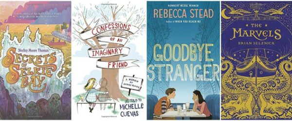 Four Rock-Your-World 2015 Middle Grade Books