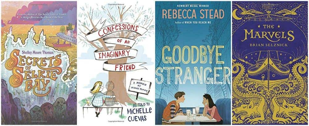 four new middle grade book reviews 2015