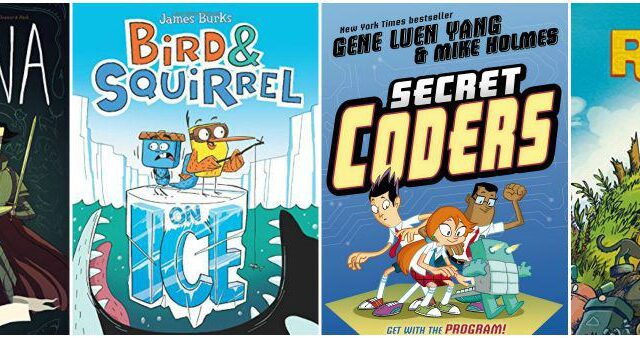 recommended graphic novels for kids