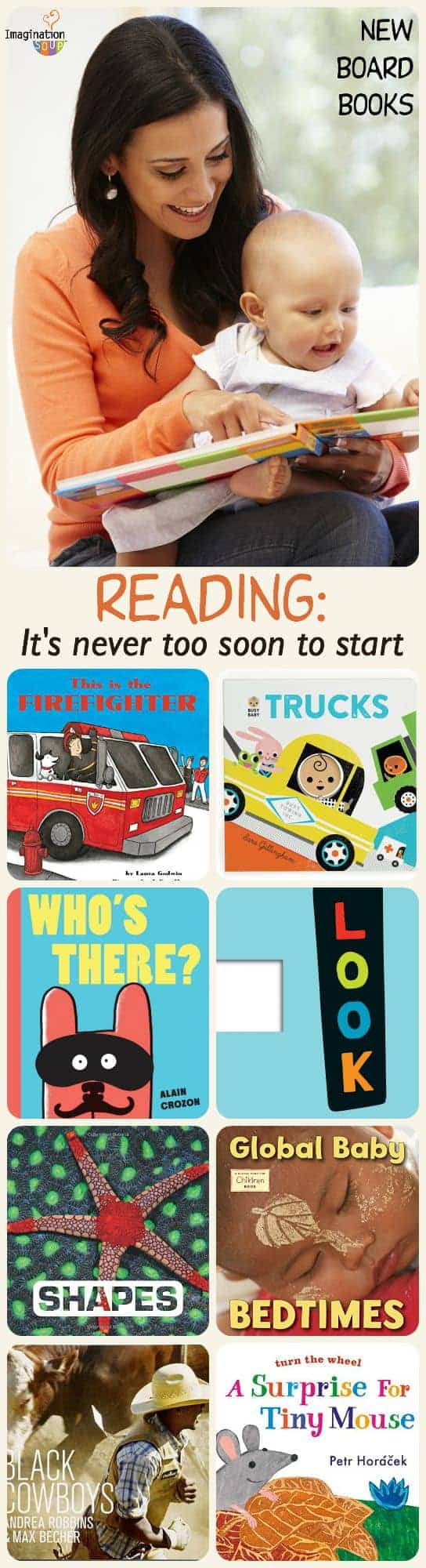 New Board Books to Read With Children