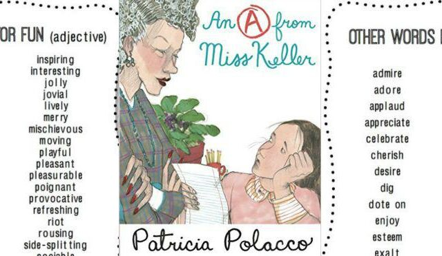 Patricia Polacco book about her writing teacher
