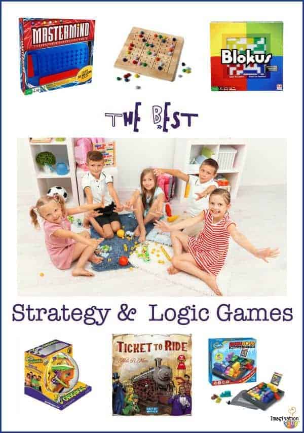 strategy and logic games for kids