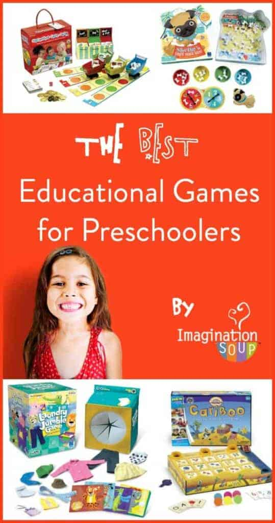 the best educational games for preschoolers from Imagination Soup