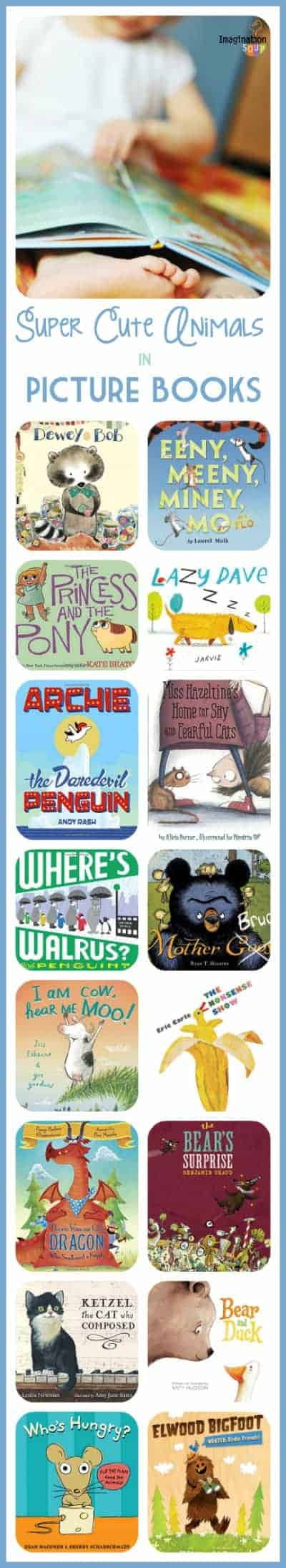 totally cute animal characters in picture books