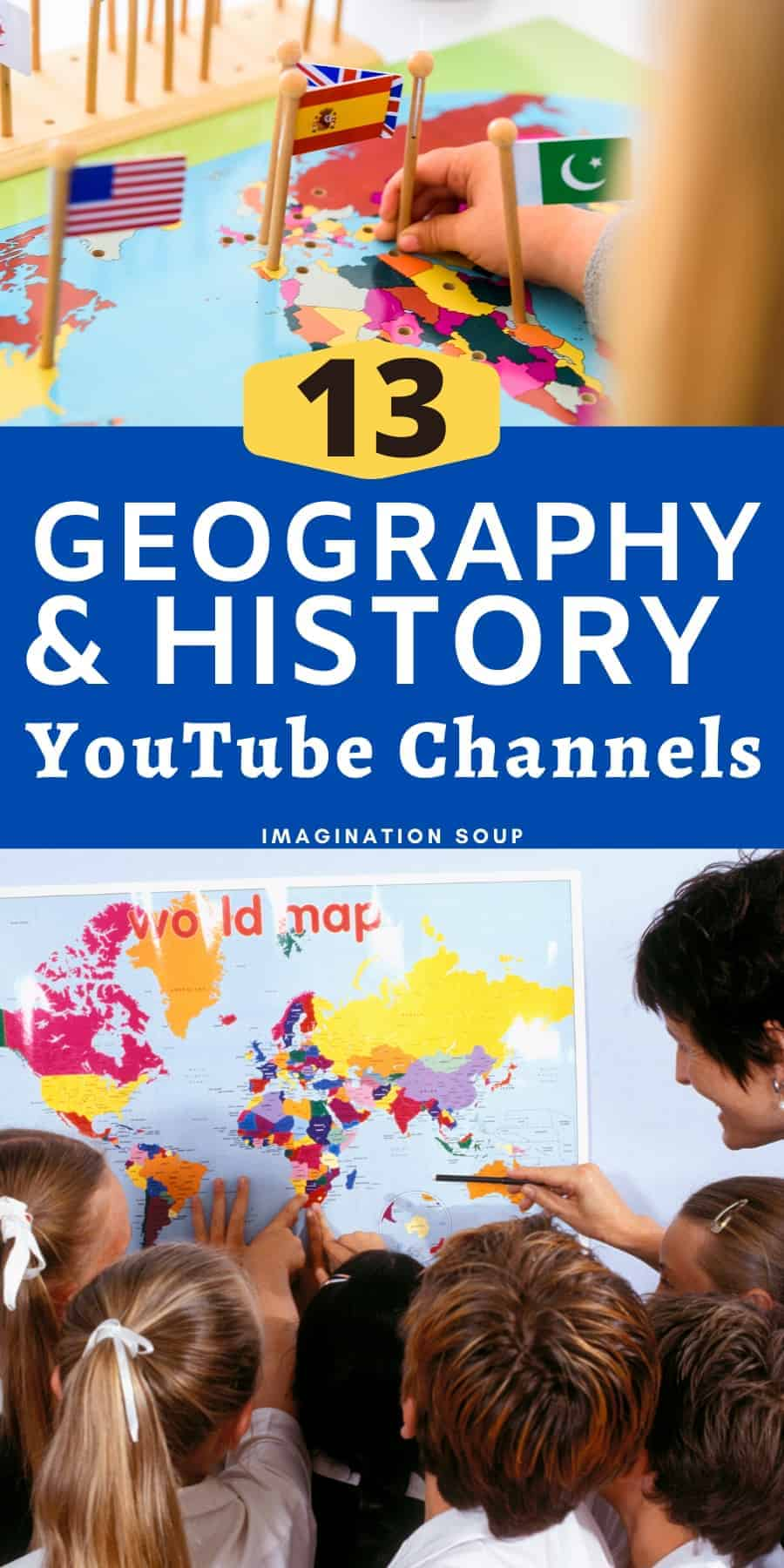 13 geography and history YouTube channels for elementary students