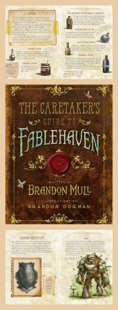 A must own book for fans of the series The Caretaker's Guide to Fablehaven