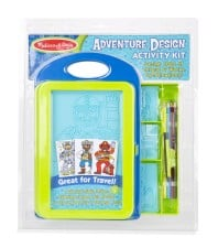 Adventure Design Activity Kit Melissa & Doug Arts and Crafts Gifts for Kids