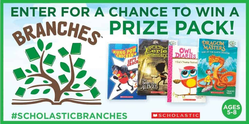 Enter below for a chance to win a BRANCHES prize pack