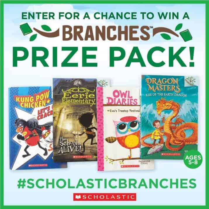 Scholastic BRANCHES book review and giveaway