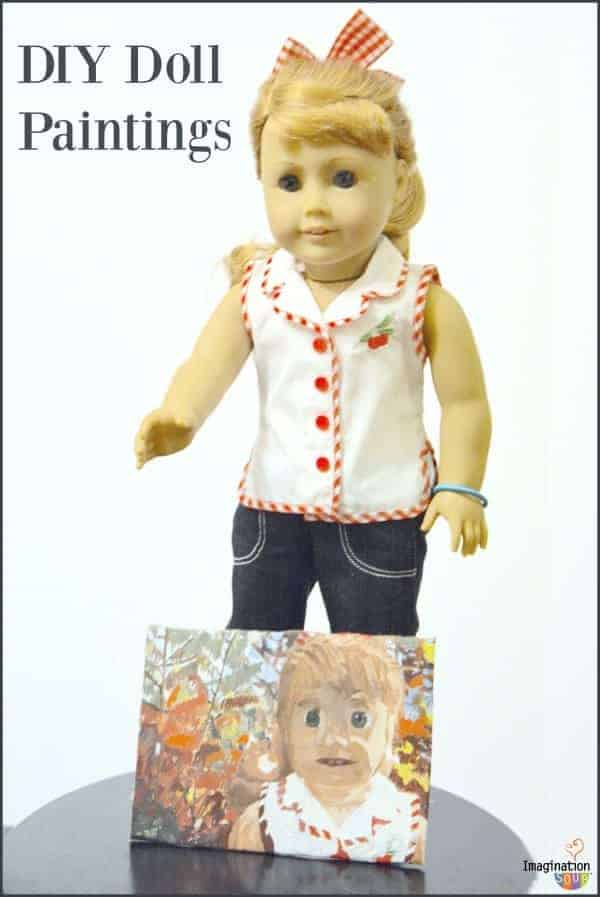DIY Doll Paintings with Maryellen American Girl (review)
