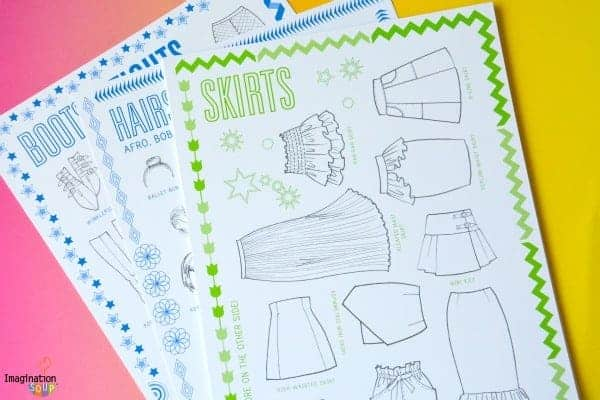 Fabulous Activity Book: Fashion Rebel Outfit Maker