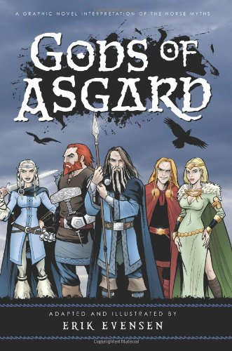 Gods of Asgard Norse comic books for kids