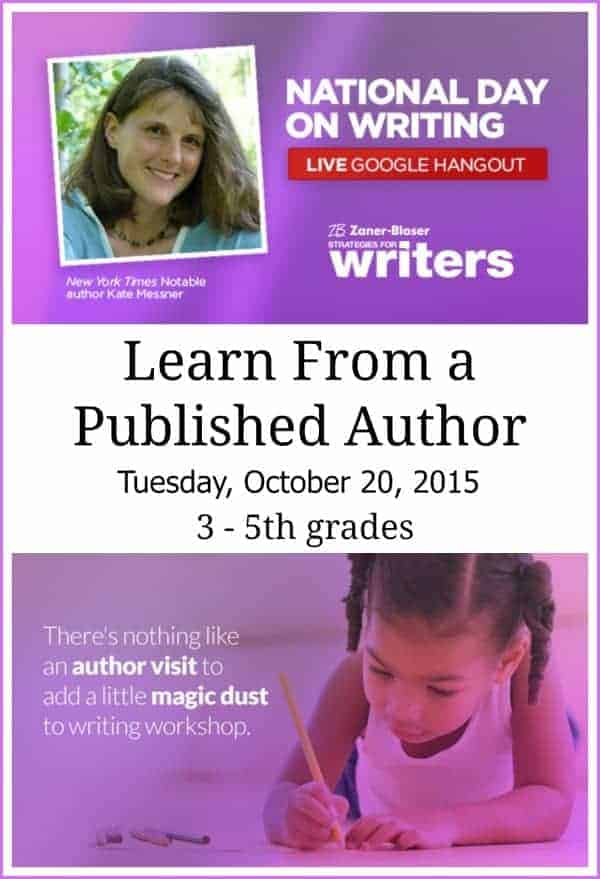 Google Hangout for classrooms to learn about writing