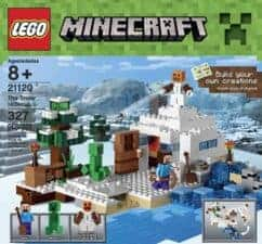 LEGO Minecraft Snow Pretend Play Gifts for Kids