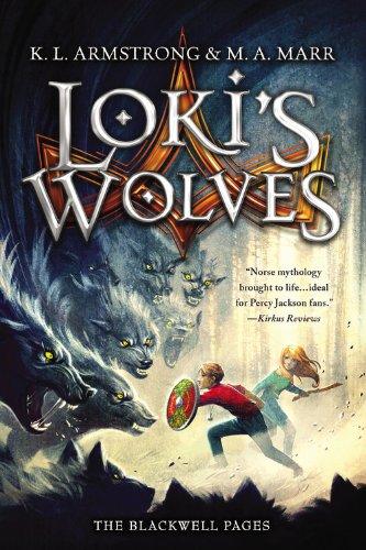 Loki's Wolves Norse Mythology Books for Kids