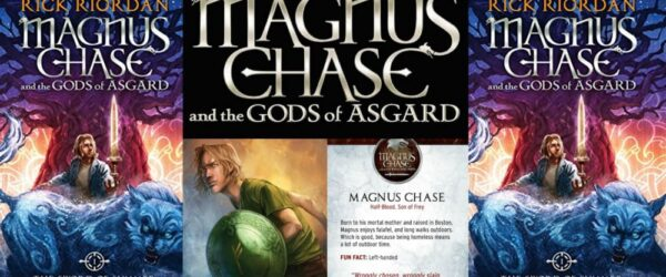 The New Rick Riordan Book (Norse Dwarves, Elves, and Gods, Oh, My!)