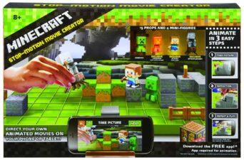 Minecraft Stop Motion Animation STEAM / STEM Gifts for Smart Kids