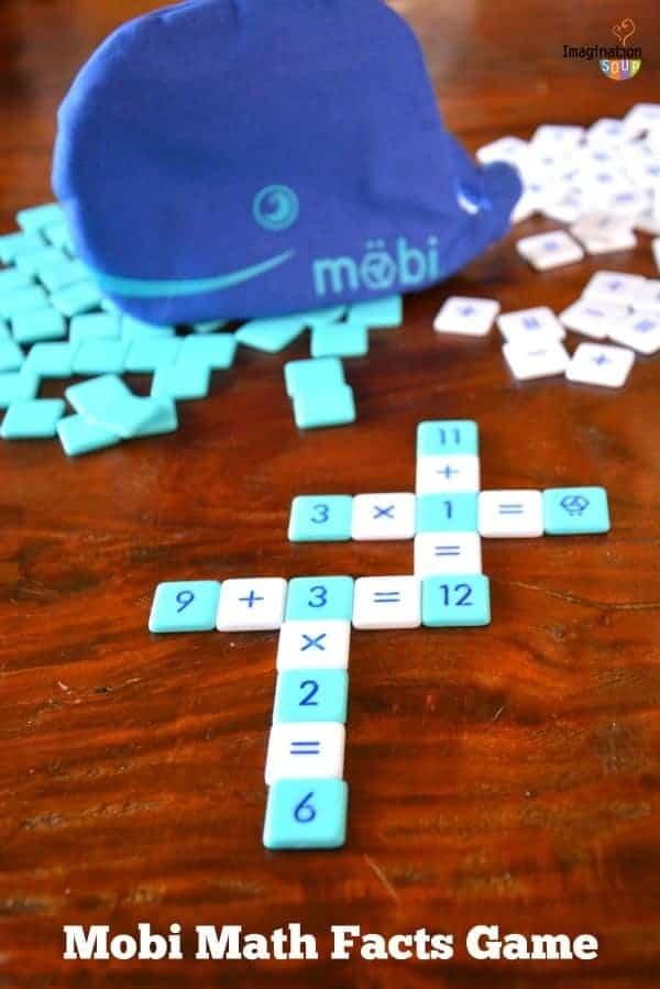 Möbi Math Facts Game Review | Imagination Soup