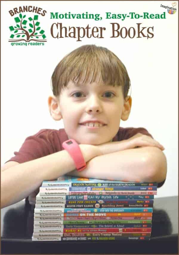 Motivating, easy to read chapter books Branches Scholastic easy chapter books