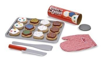 Slice and Bake Cookie Dough Set Melissa & Doug Pretend Play Gifts for Kids