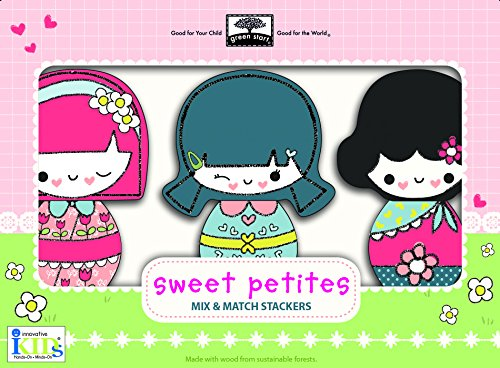 Sweet Petites chunky wooden mix and match beautiful dolls Pretend Play Gifts for Kids
