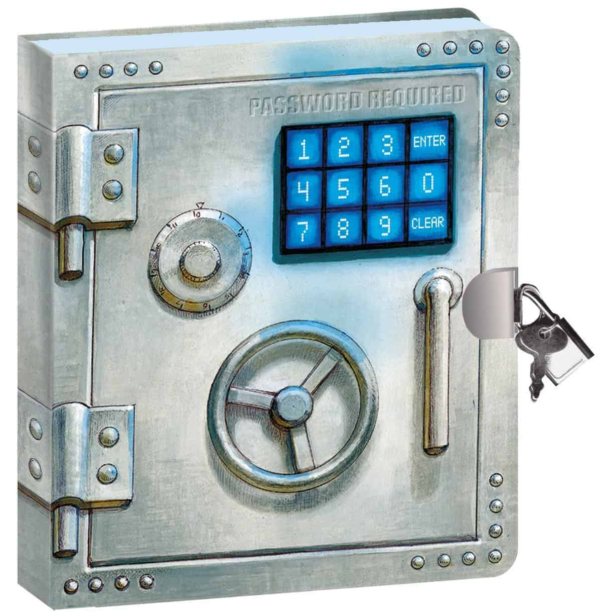 Vault Door and Lock Gifts for Young Writers