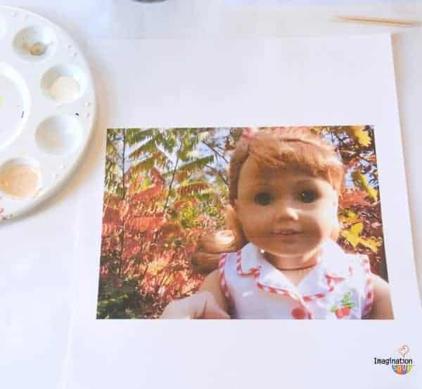DIY Doll Painting with New American Girl, Maryellen