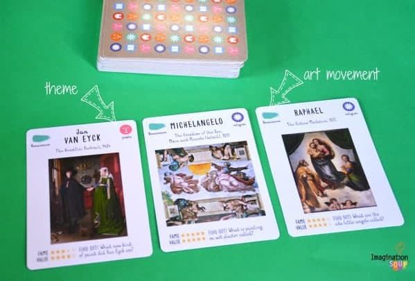 art history card game review