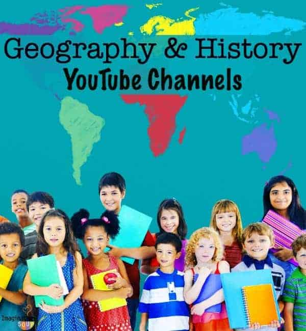 geography and history youtube channels for elementary