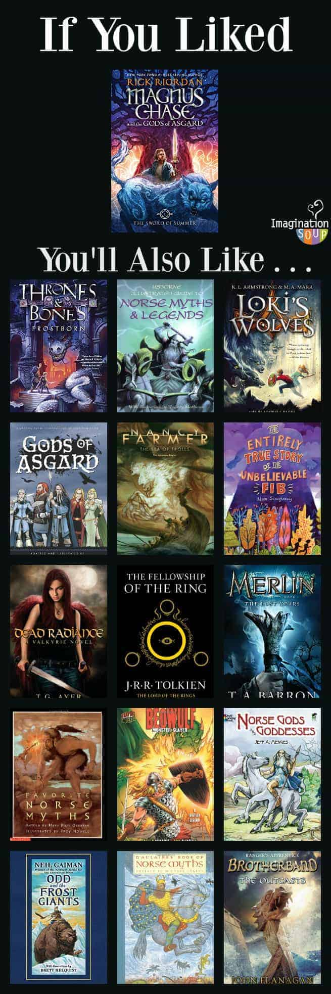 nordic norse mythology myths kids if you liked Magnus Chase The Sword of Summer, you'll also like these Norse mythology books