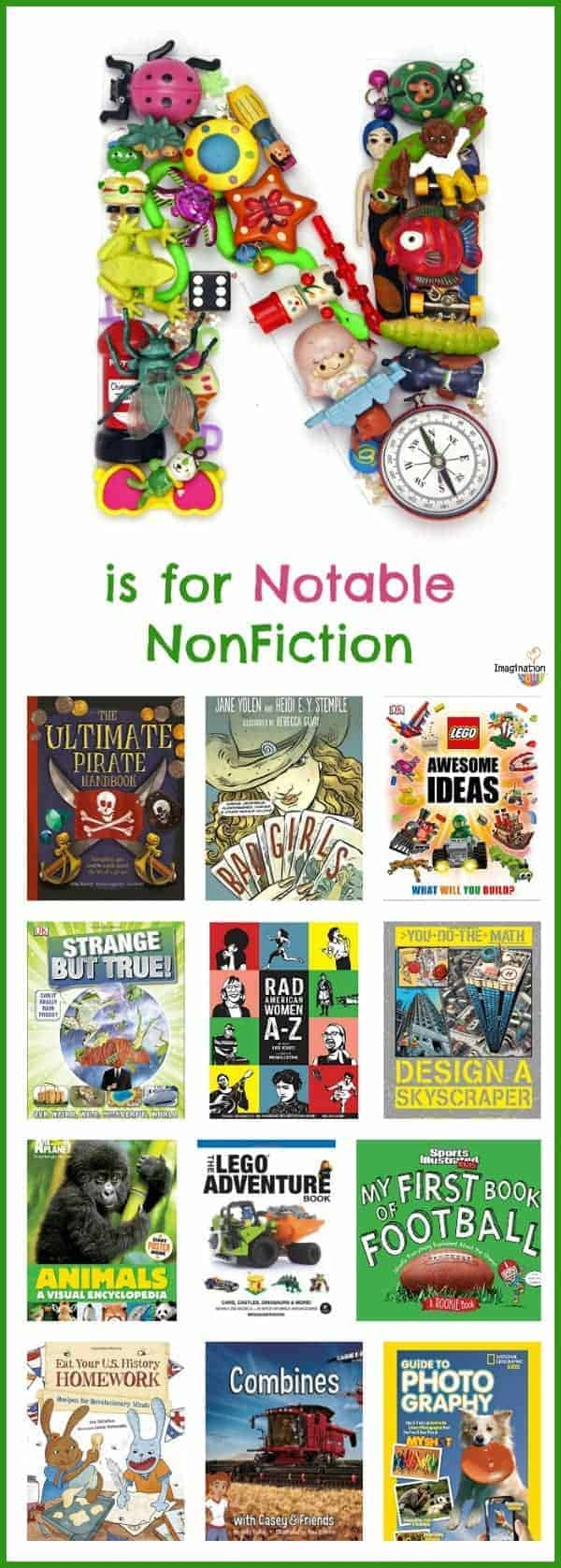 new roundup of excellent nonfiction books for kids