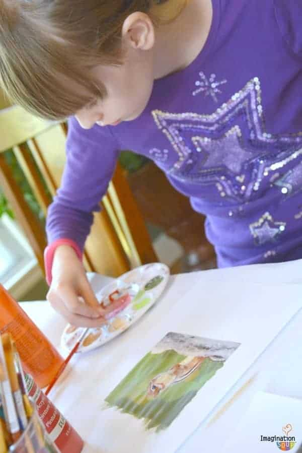 DIY painting a photograph