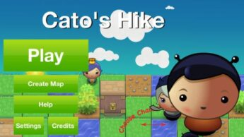 Cato's Hike coding app for kids