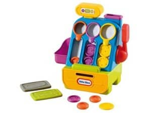 Count and Play Cash Register Pretend Play Gifts for Kids