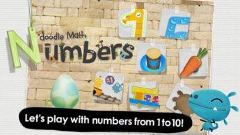 Doodle Math Numbers New STEM Apps for Kids preschool math app