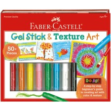 Faber Castell Gel Sticks and Texture Art Arts and Crafts Gifts for Kids