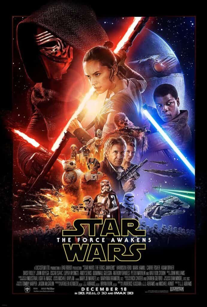 Force Awakens Poster - Star Wars Gift Ideas