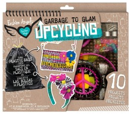 Arts and Crafts Gifts for Kids Garbage to Glam Upcycling