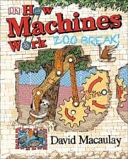 How Machines Work Zoo Break! nonfiction gift book for 7 year olds