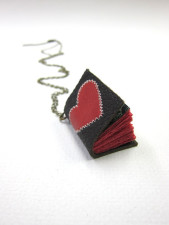 Journal Necklace Gifts for Young Writers