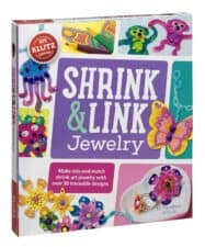 Klutz Shrink & Link Jewelry Arts and Crafts Gifts for Kids Gifts for 8 Year Old Girls