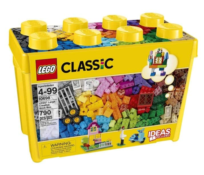 LEGO Classic Large Brick Box STEAM / STEM Gifts for Smart Kids