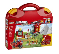 LEGO Juniors Fire Suitcase Pretend Play Gifts for Kids